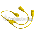 Splitter Cable for Festoon, 1 Male - 2 Female Connector