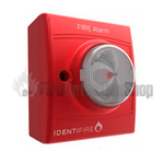 Identifire Surface Tritone Sounder VID Red Body Clear Lens