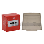 STi Reset RP-RD2-01 Conventional Call Point w/ Lift Up Protective Cover