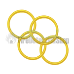Yellow Hose O' Ring (Pack of 125)