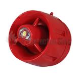 C-Tec BF447C/CC/SR ActiV Conventional Hi-Output W-2.75-9 Wall VAD c/w Voice Sounder (shallow base)