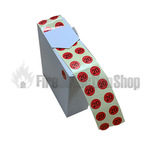 Red Fire Extinguisher 2020 Gauge Dots (x1000)