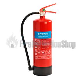 Power X 9Kg ABC Dry Powder Fire Extinguisher