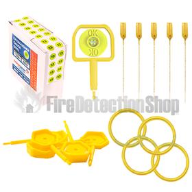 Extinguisher Service Pack - Yellow